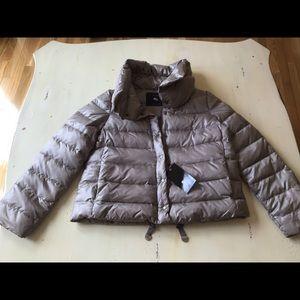 Zara Woman light gray down jacket